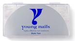 Young Nails Tips Master Clear (500 stuks)