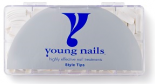 Young Nails Tips Master Fench White (500 stuks)