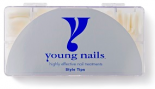 Young Nails Tips Master Natural (500 stuks)