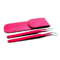 Pure Lashes Pink Tweezer set